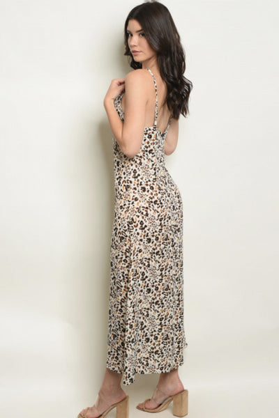 Leopard Maxi Dress - Elizabeth's Boutique