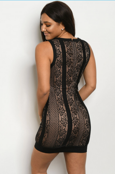 Black Lace Dress - Elizabeth's Boutique