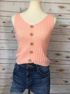 Kelly Tank Top-Blush - Elizabeth's Boutique
