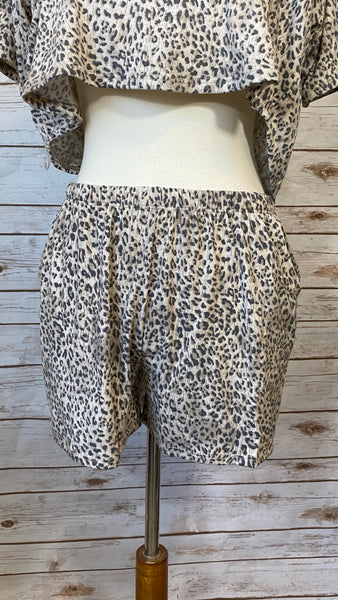 Making My Way Home Animal Print Lounge Set - Elizabeth's Boutique