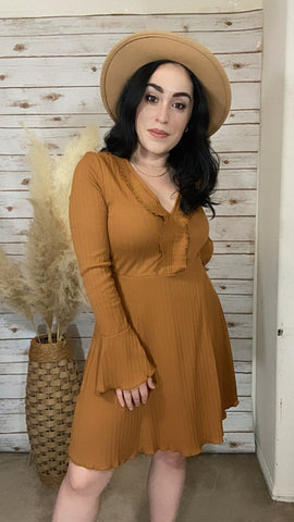 Penelope Long Sleeve Dress - Elizabeth's Boutique