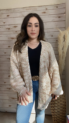 You're On My Mind Cardigan - Elizabeth's Boutique
