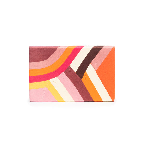 Philipa Box Clutch, Multicolor