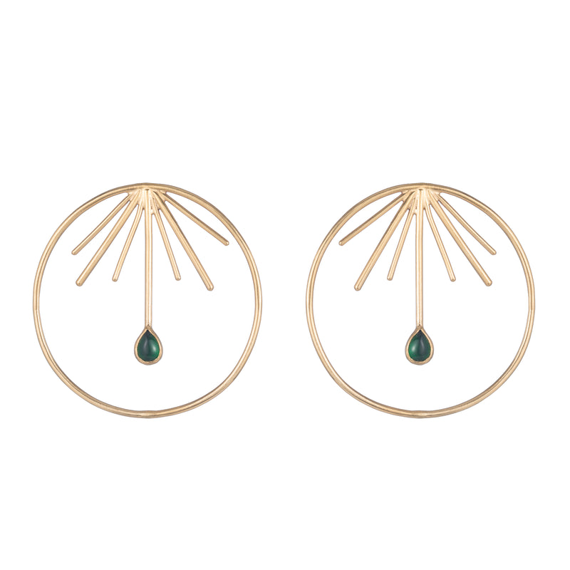 Devon Earring, Gold