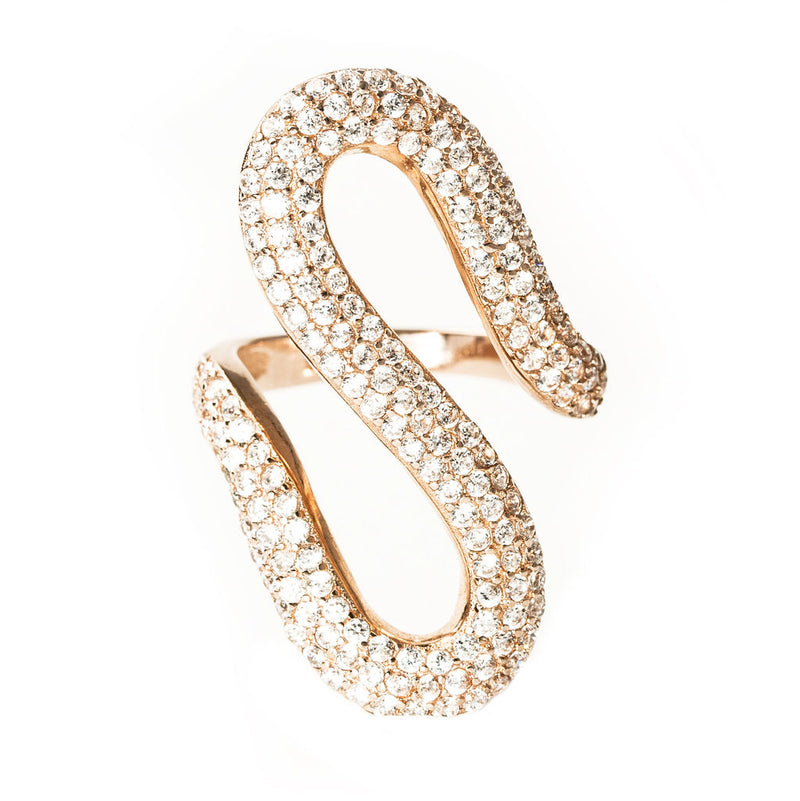 Isadora Ring, Rose Gold