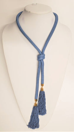 Brynleigh Necklace, Blue/Gold