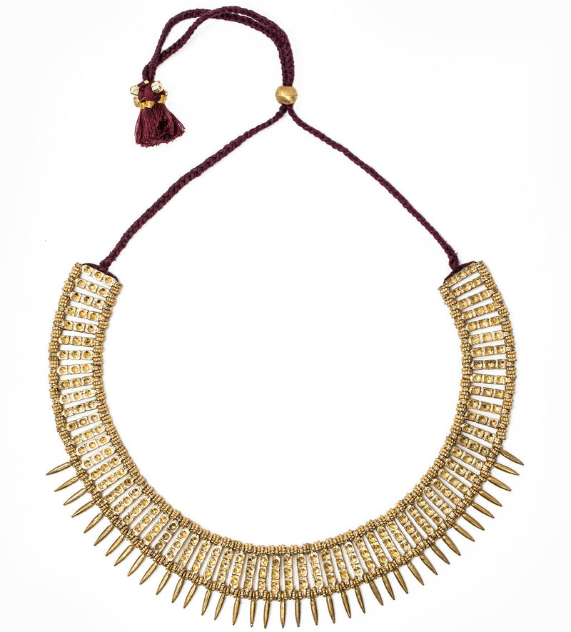 Matti Necklace, Gold