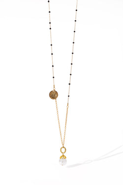 Angelina Necklace, Gold