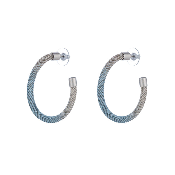 Descano Earrings, Blue