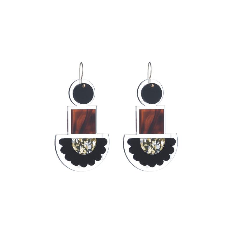 Sienna Earrings, Multi