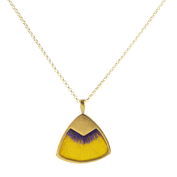 Amihan Necklace, Yellow