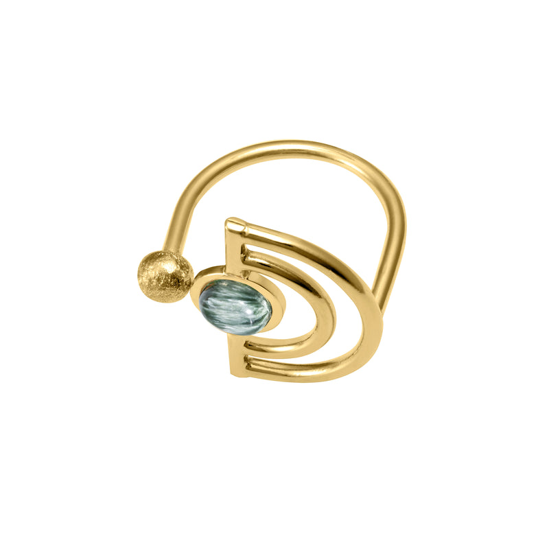 Emmie Ring, Green