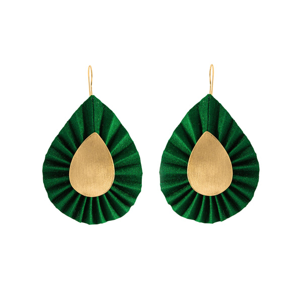 Aurelia Earring, Green
