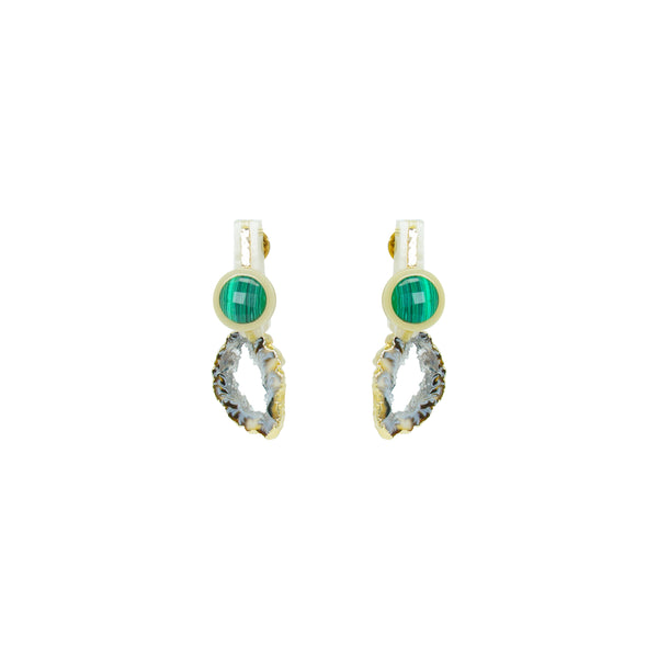 Elle Earring, Green