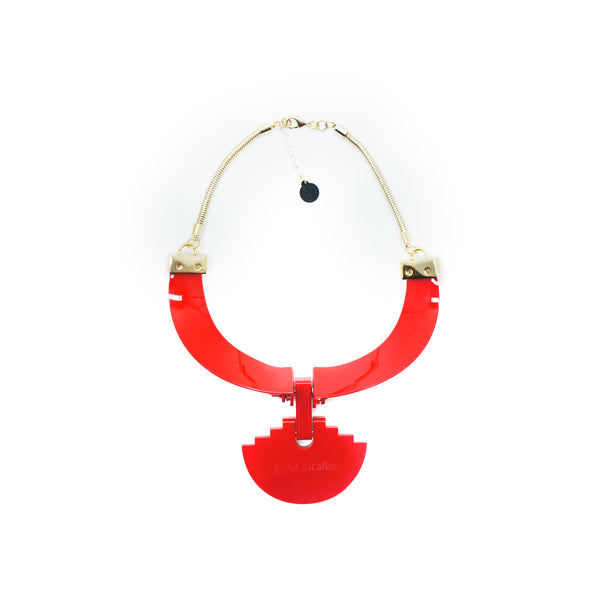 Yvette Necklace, Red