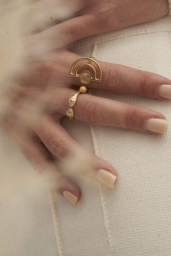 Michelline Ring, Gold