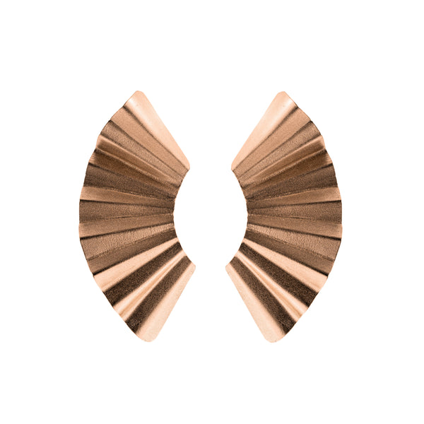 Cara Earrings, Rose Gold