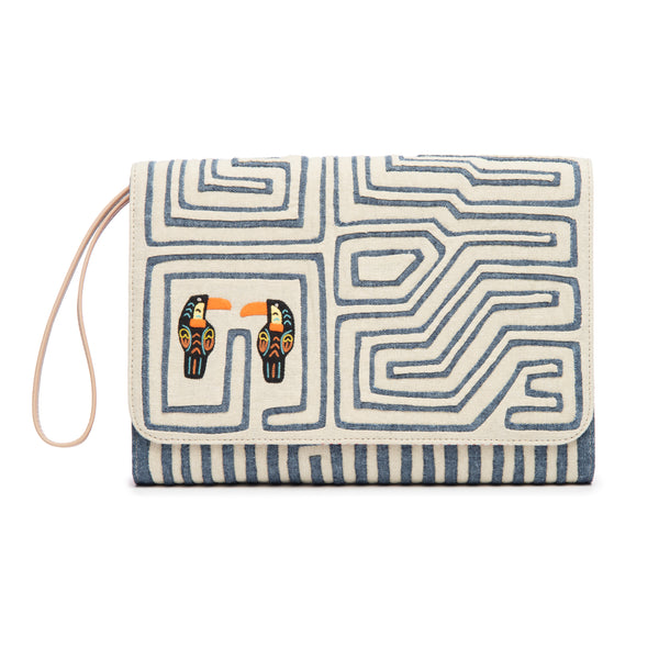 Catalina Clutch, White