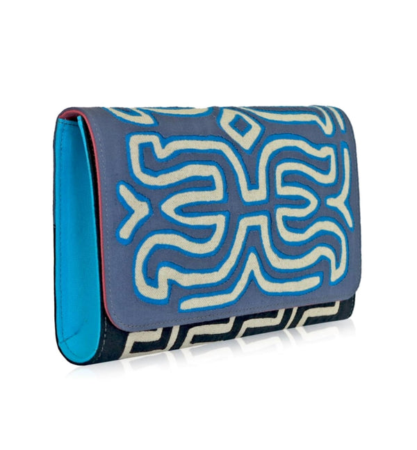 Elisabetta Clutch, Blue