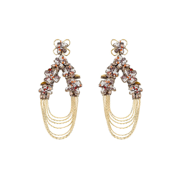 Emmalynn Earrings, Gold