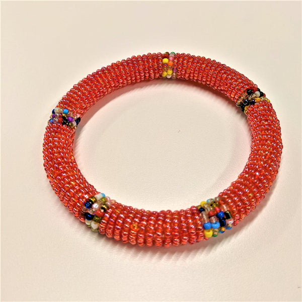 Ari Bracelet, Red/Multicolor