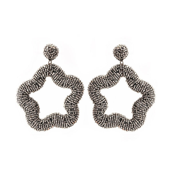 Illiana Earring, Gunmetal