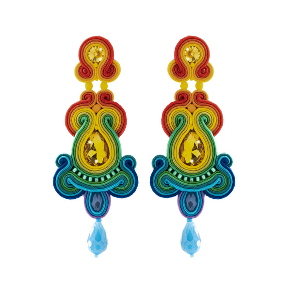 Klara Earrings, Multi