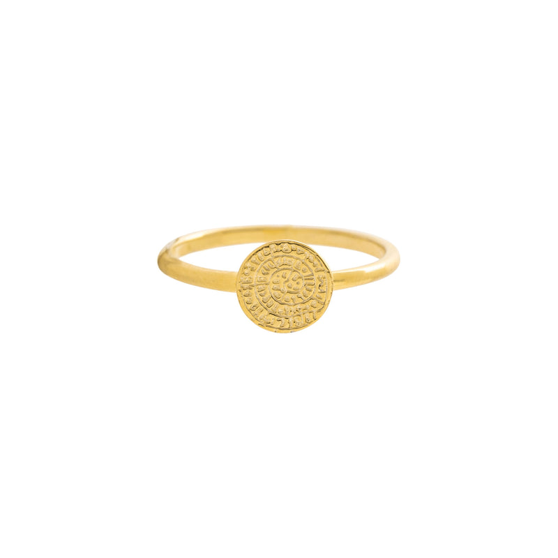 Lexi Ring, Gold Small