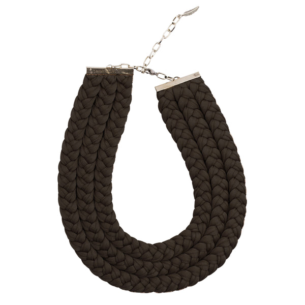Muse Necklace, Black