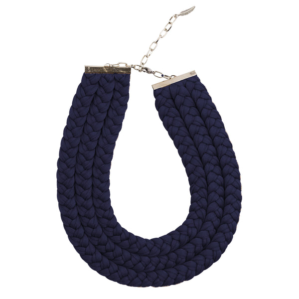 Muse Necklace, Navy