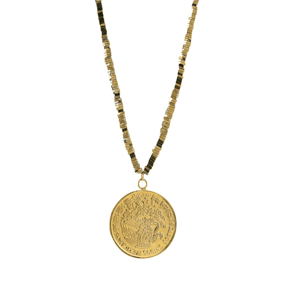 Romina Necklace, Gold