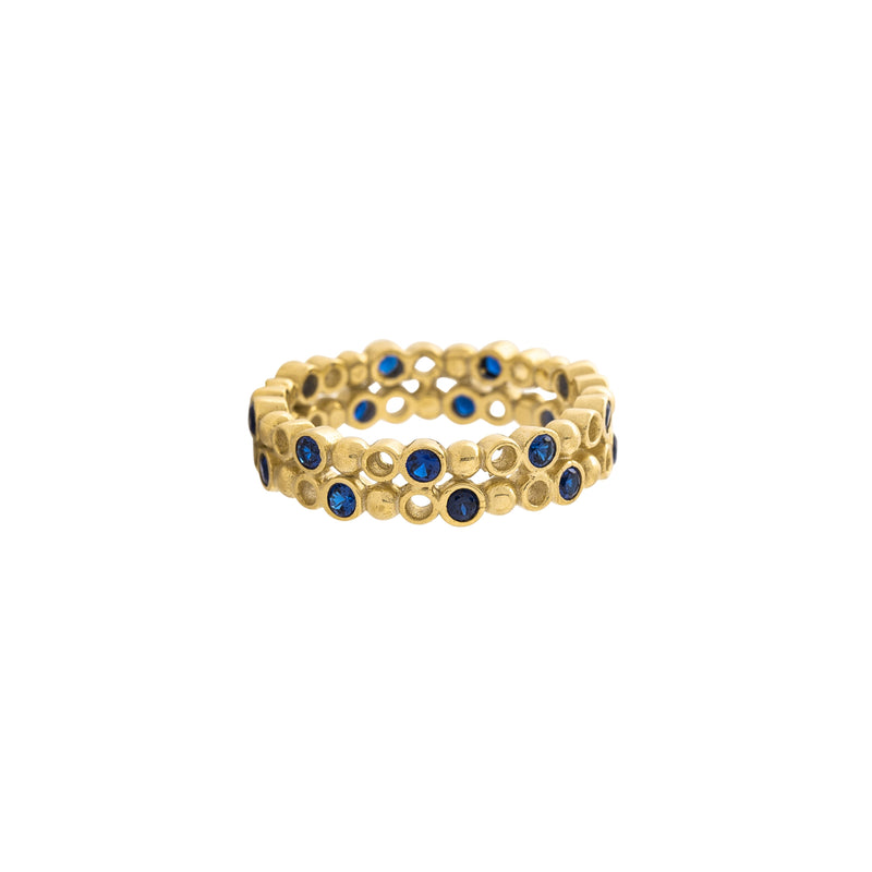 Rosamie Ring, Gold/Blue