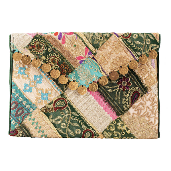 Rupinder Clutch, Green
