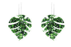 Vieques Earrings, Green