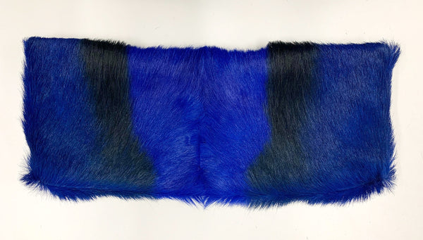 Shelly Clutch, Blue/Black