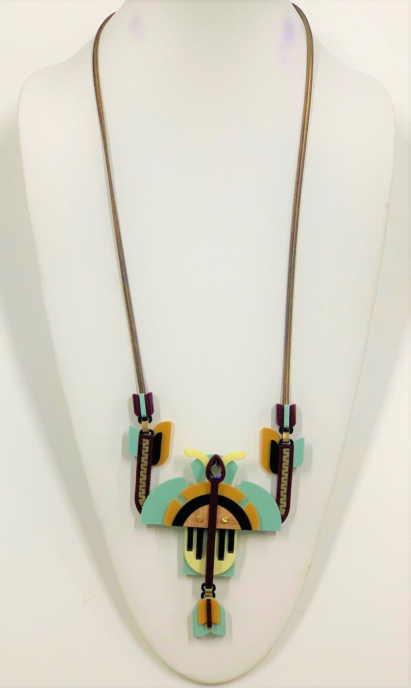 Ella Necklace, Multicolor