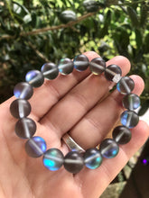 Load image into Gallery viewer, Blue Mystic Quartz Healing Crystal Bracelet
