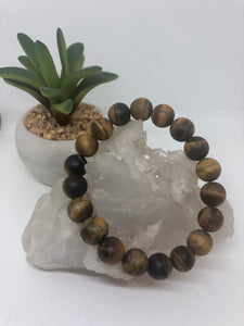 Tiger Eye Healing Crystal Bracelet