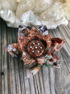 Orgonite Lotus Flowers