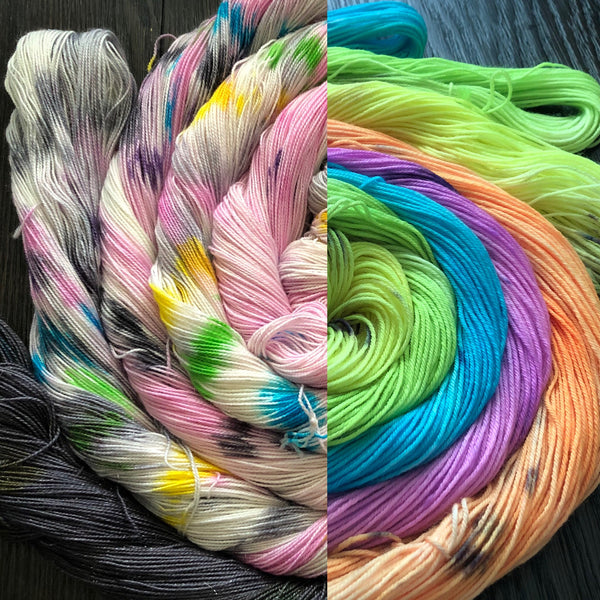 One Year of Yarn!  So exciting.