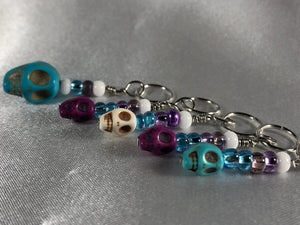 Rebel Purl Stitch Markers - Multiple Choices