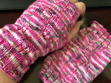 Crazy Birthday Cake Mitts Pattern