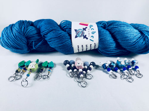 You've Got an Owl Stitch Markers - Multiple Choices