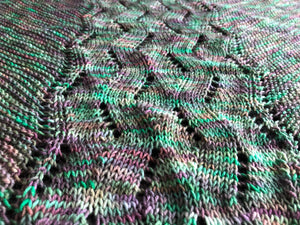 Five By Five Shawl Pattern - digital download