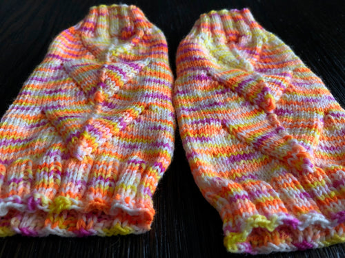Finesse Power Up Fingerless Mitts
