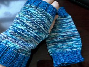 Basic Starry Soul Fingerless Mitts