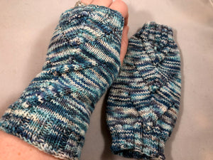 Power Up Starry Night Mitts