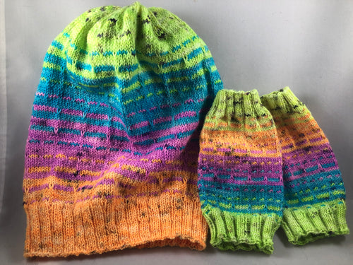 Mutant Mini Fade Hat & Mitts