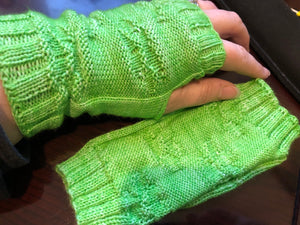 Oh, For Pet's Sake Fingerless Mitts