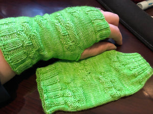 Oh, For Pet's Sake Fingerless Mitts Pattern